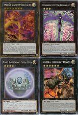 Yugioh Chronomaly Deck - 40 Cards + 8 XYZ - Nebra Disk, Crystal Chrononaut