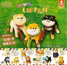 Stand Stones dressed! Shiba walk Gashapon 10 set mini figure capsule toys