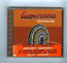 CD (NEW) AMPARANOIA REBELDIA CON ALEGRIA