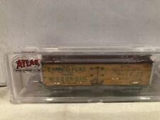 N SCALE ATLAS #50001757 40' WOOD REEFER WISCONSIN CANNERS ASSOCIATION #40625 NEW