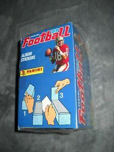 1989 PANINI FOOTBALL STICKERS BOX NFL