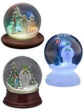 The Snowman Snow Globe LED Christmas Decoration  Raymond Briggs Gift Child Music