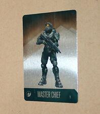 Halo 5 Guardians rare Promo Metal Card Collectible Master Chief