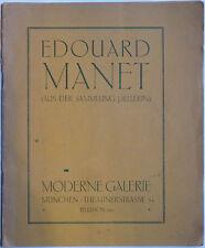 Manet, Kunstkataloge, Catalogue Manet, Manet, Eduard Manet, Art, Manet Art