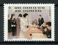 France 2019 MNH Womens Women's Suffrage Right to Vote 1v Set Stamps