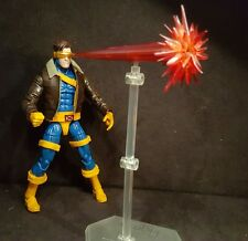 NEW Custom Cyclops with optic blast effects marvel legends figure X-Men jacket