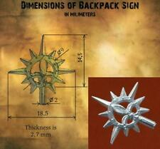 Backpack Sign for Sisters of Battle Superior Celestian, Seraphim or Canoness