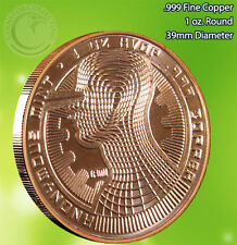 Bitcoin Guardian Copper Round 1 oz .999 Very Limited and Rare