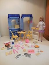 Chef Barbie BAKE SHOP & CAFE 2000 Extras Cooking Kitchen Food Accessories Doll