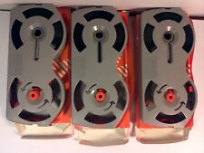 Lot of 3 IBM Typewriter Ribbon 1299095 Selectric II High-Yield Correctable NOS