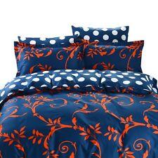 Dm624Q - Queen Duvet Cover Set - 6 Piece - 100% Fine Cotton - Dolce Mela Bedding