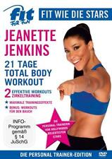 Fit for Fun -Fit wie die Stars - Jeanette Jenkins/21 Tage Total Body Workout NEU