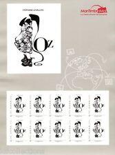 NOUVEAU bloc feuillet Collector carré d'encre 2015 OZ tirage éphémère