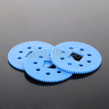 2pcs 46mm Plastic Motor Single Gear 90T Robotic Toy RC Car Truck Model Hobby