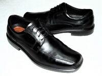 ECCO Men's HELSINKI Leather Dress Shoe Oxford US 13-13.5 EUR 47 BLACK