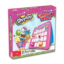 SHOPKINS GUESS WHO! ONCE YOU SHOP YOU CANT STOP AGES 3+ / HASBRO / WINNING MOVES