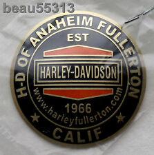 HD of ANAHEIM FULLERTON CALIFORNIA HARLEY DAVIDSON DEALER DOMED OIL DIP DOT