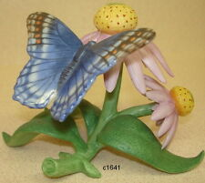 Lenox Garden Bird Series Red Spotted Butterfly Figurine - New In Box