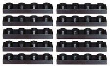 Missing Lego Brick 3710 Black x 10 Plate 1 x 4
