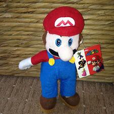 Mario Suave Juguete De Etiquetas Super Mario Brothers / Mariokart 2009 Nintendo PMS VGC