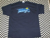 Jimmie Johnson #48 Navy Lowe's NASCAR Racing T-shirt - Sizes Large or X-Large