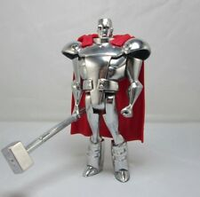 JLU Custom Steel DC Comics Chrome Coat