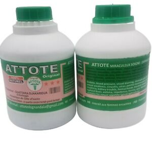 2 Bottles Attote 100% Natural Herbal Mixture For Man Power