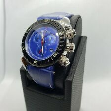 BA2RO Watch Oval Blue Face Leather Band CLEARANCE SALE***