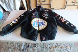 Rusty Wallace Leather Suede Jacket #2 NASCAR Size XXL CHASE Authentics