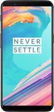 Oneplus 5T A5010 Dual Sim 64GB 6GB LTE Unlocked Android Smartphone NEU- Schwarz