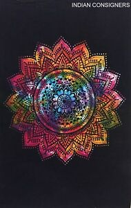 Hippie Textile Ombre Mandala Flower Wall Hanging Home Decor Throw Cotton Wall