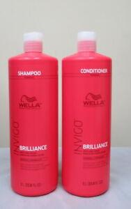 Wella Invigo Brilliance Shampoo & Conditioner Duo Fine / Normal hair 33.8 oz