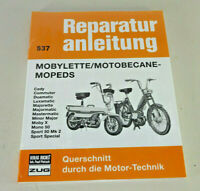 Reparaturanleitung Mobylette / Motobecane - Mopeds