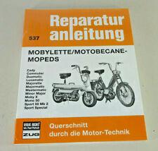 Manuel de Réparation Mobylette / Motobécane - Cyclomoteurs
