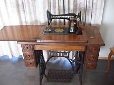 Singer Treadle Sewing Machine Collectable