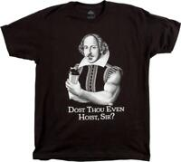 Dost Thou Even Hoist, Sir? Mens Funny Gym Training T-Shirt