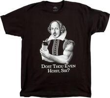 Dost Thou Even Hoist, Sir? Mens Funny Gym Training T-Shirt