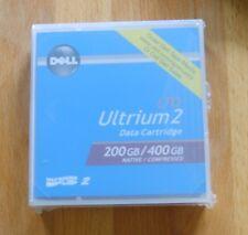5 X Dell Lto2 Ultrium 2 400gb Tapes -