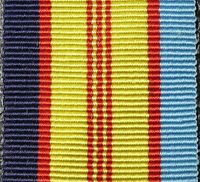 THE AUSTRALIAN VIETNAM SERVICE MEDAL ARMY NAVY AIR FORCE RIBBON