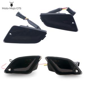 Vespa GTS GTV GT Full LED Black Lensed Indicator set 125 200 250 300