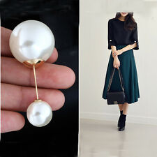 Charm Double Pearls Pin Brooch Pin Brooch Suit Pin Brooch Cuff Pin Collar Pin