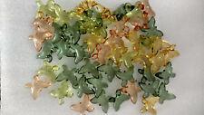50 Mixed Butterfly Gardenia Bath Oil Beads
