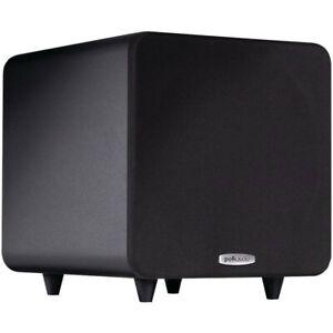 "Polk Audio 300W 8"" Bass Active Powered Subwoofer Home Theatre Speaker PSW111 BLK"