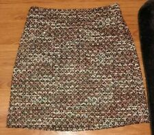 ANN TAYLOR PETITES NEW NWOT GORGEOUS GOLD BLACK TEXTURED TWEED PENCIL SKIRT 2 XS