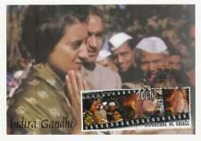 Kaart Fdc 20th century - Gandhi keert terug als Premier (007)