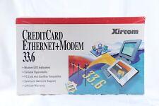 NEW Xircom CreditCard Ethernet+Modem 33.6 CEM-33BT(AM)