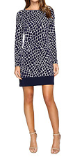 MICHAEL Michael Kors Crocodile Printed Border Dress Size M