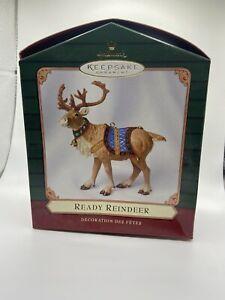Hallmark Ready Reindeer Ornament