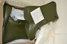 military over boots rubber size 10 new made in the USA USGI green overshoe
