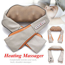 Pro Electric Shiatsu Kneading Neck Shoulder Back Body Massager With Heated